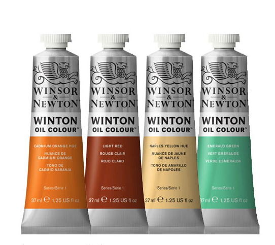 WINTON OIL COLOUR 37ML PERMANENT ALIZARIN CRIMSON